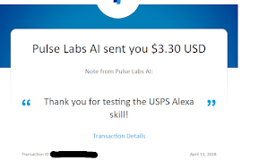 I received payment for testing Amazon Alexa